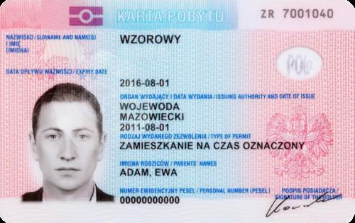 Карта Побыта - документ, подтверждающий личность иностранца, и легальность проживания на территории Польши. Позволяет свободно перемещаться по странам ЕС, и дает возможность в дальнейшем получить ПМЖ.